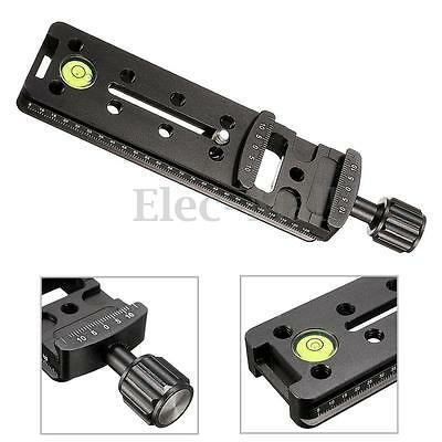 140MM Nodal Rail Slide Quick Release QR Clamp For Macro Panoramic Arca Swiss RR