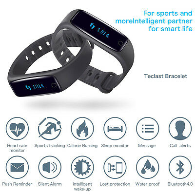 H30 Bluetooth Smart Watch Wristband Bracelet Heart Rate Monitor For IOS Android