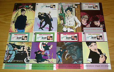 Official Modesty Blaise #1-10 VF/NM complete series + annual - pioneer comics