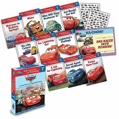 Reading Adventures: Reading Adventures Cars Level 1 Boxed Set by Disney Book...