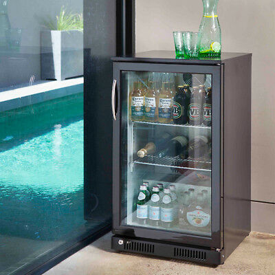 Silverstorm 118L Glass Door Bar Fridge SF118