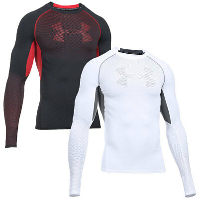 Under Armour 2016 Mens HG Armour Graphic Long Sleeve Compression T Shirt Top