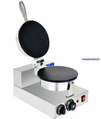 Stainless Steel Electric Egg cake oven QQ Egg Waffle Maker machine110/220v