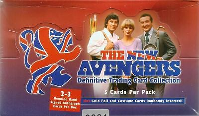 New Avengers Sealed Box of Trading Cards #0001 from Strictly Ink 2006