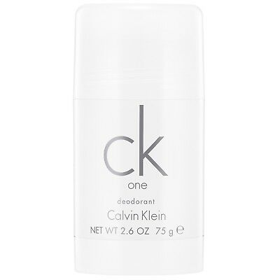 Calvin Klein CK One Deodorant Stick 75g for all BRAND NEW