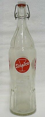 Old Vintage Large French Sinalco Soda Bottle