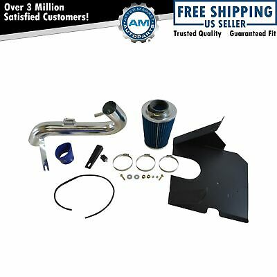 Performance Cold Air Intake CAI w Blue Air Filter for Ford Mustang 4.0L V6