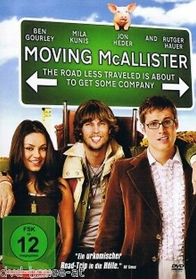 DVD * MOVING McALLISTER * NEU & OVP * Mila Kunis *