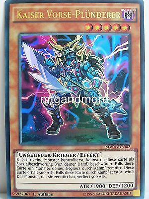 Yu-Gi-Oh - 1x Kaiser Vorse-Plünderer - MVP1 - The Darkside of Dimensions Movie