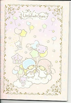 Sanrio Little Twin Stars Composition Notebook Bear Balloon