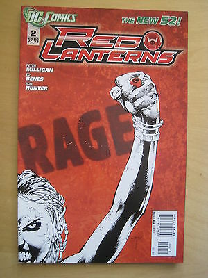 RED  LANTERNS   # 2  by MILLIGAN & BENES. DC THE NEW 52. 2012
