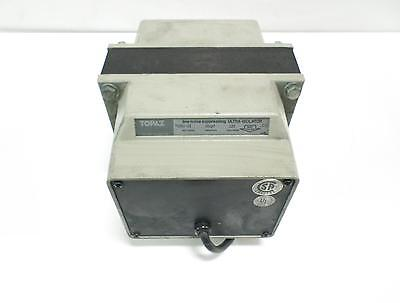 TOPAZ LINE NOISE SUPPRESSING ULTRA ISOLATOR TRANSFORMER 91001-22 *kjs*