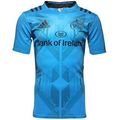 adidas Munster 2015/16 S/S Rugby Training Shirt - All Sizes Available