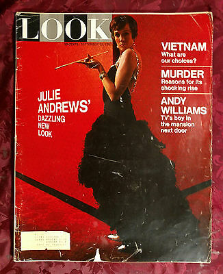 LOOK September 19 1967 JULIE ANDREWS STAR! ANDY WILLIAMS Vincent Lombardi +++