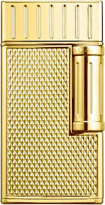 "Colibri Julius Ii 2 ""gold Polished"" Double-Jet Flame Lighter Pachmayr Grip *new*"