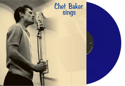 Chet Baker 'Sings' LP Reissue on Blue 180gram Vinyl LP BRAND NEW & SEALED