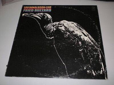 Lou Donaldson - Live:fried Buzzard - Cadet Records - Lp - 1967 - Made In U.s.a.