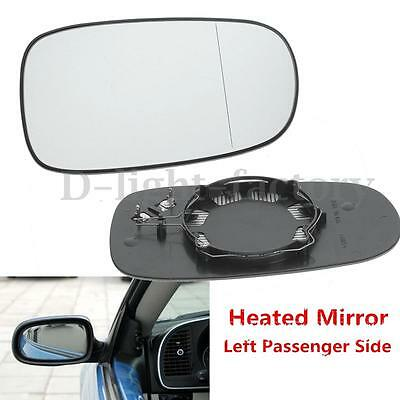 Left Passenger Side Heated Electric WING MIRROR GLASS for 2003-2010 SAAB 9-3 93