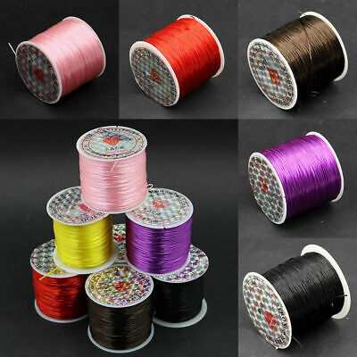 Strong Elastic Stretchy Beading Thread Cord Bracelet String For Jewelry Making *