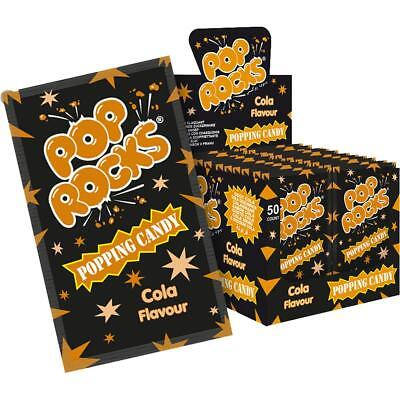 Pop Rocks Cola 50 Stk. im Display knisternde Zuckerware (1er Pack)