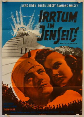 A Matter of Life and Death re-release german movie poster