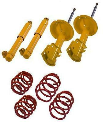 Kit Amortisseurs + Ressorts Sports Courts Fiat Seicento 187 40 60