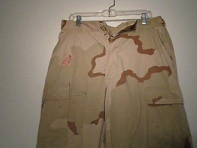 Genuine Usgi Military Dcu Desert Combat Uniform Pants 1997 Medium X-Long J-2