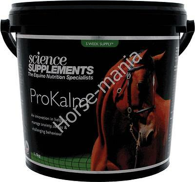 Science Supplements Prokalm 1.1Kg Tub Horse Calmer Calming Supplement