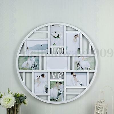 9 Multi Collage Photo Picture Frame Holds 6 x 4'' Grid Home Wall Hanging Decor