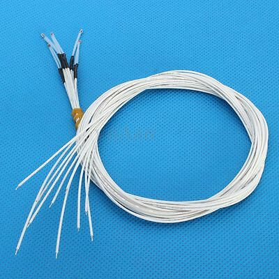 5 x NTC 3950 Thermistor 100K With 1 Meter Wire For RepRap 3D Printer Bed Hot End