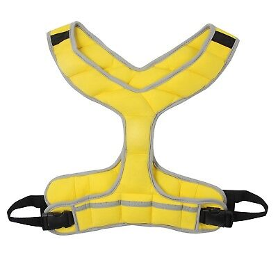 Zeyu Sports Walking Fitness Weighted Vest 8LBS/3.6KG Running Yellow
