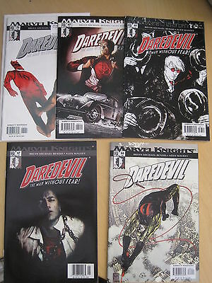 """DAREDEVIL 66 - 70 : """"GOLDEN AGE"""" COMPLETE 5 PART STORY by BENDIS & MALEEV. 2004"""