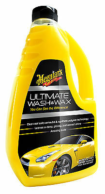 Meguiar's Ultimate Wash & Wax-Hybrid Carnauba/Polymer WaxProtection-48 OZ/1.42 L