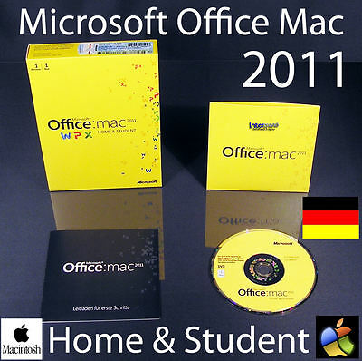 microsoft office f r mac 2011 home student 1 mac pkc eur 1 00 picclick de. Black Bedroom Furniture Sets. Home Design Ideas