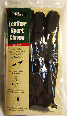 Uncle Mike's Leather Sport Shooting Gloves