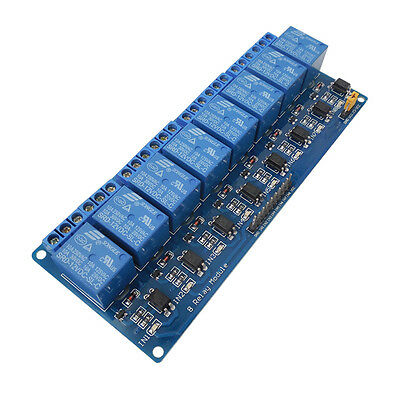 8-Channel 12V Relay Shield Module for Arduino UNO 2560 1280 ARM PIC AVR STM