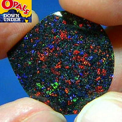 Vivid Reds * 5ct Australian Solid Fairy Boulder Opal * See Video Clip