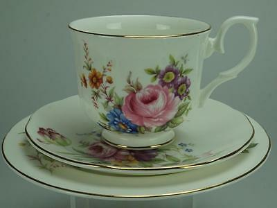 Salisbury Floral Trio Cup, Saucer and Side Plate KC218