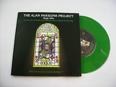 "Alan Parsons Project - Single Edits - 7"" Green Vinyl New 2015 - 35Th Anniversary"