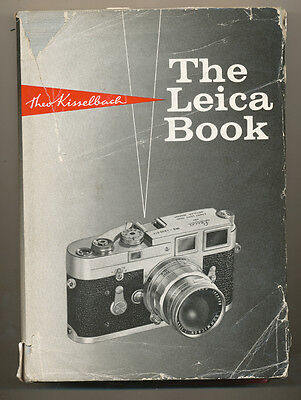"""Theo Kisselbach libro """"The Leica Book"""" in inglese 1967 D856"""