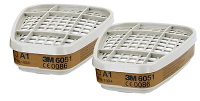 3M A1 Filters - Fits 3M 7500 / 6000 Respirator Mask - Aerosol / Dust Mask Filter