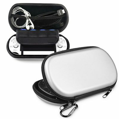 Silver Hard Pouch Carry Case Cover For Sony Playstaytion PS VITA PSVITA PSV