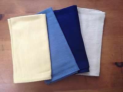 Longaberger Set of 4 Assorted Napkins - All New, Free Ship