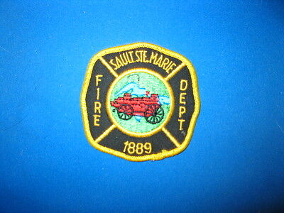 Sault Ste. Marie Fire Dept.  Patch - Ontario