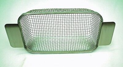 ULTRASONIC CLEANING  Wire Mesh Basket SP28 fits Salon Parlor Tank 11 x 9.5 x 6