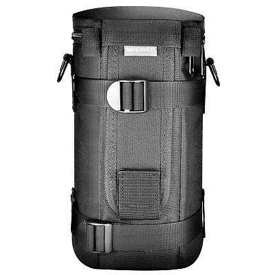 Neewer NW-L2070 Padded Water-Resistant Lens Pouch Bag Case with Shoulder Strap