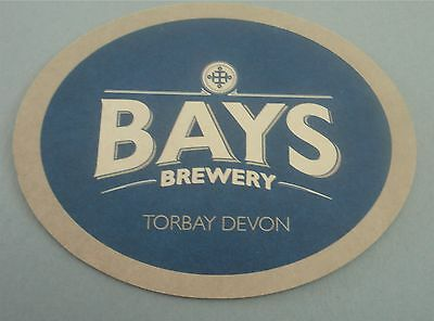 Bays Brewery - Everyday's a Bay Day UK Beer Coaster