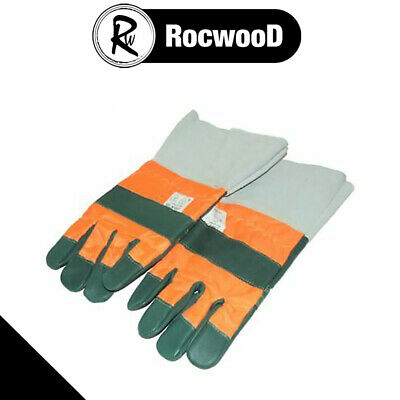 Chainsaw Safety Gauntlet Chainsaw Gloves L Large Size 10 Class 1, 20 m/s