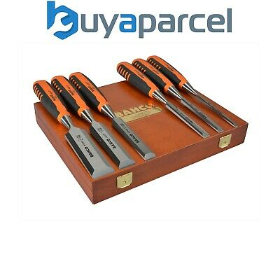 Bahco 424P-S6 6 Piece Honed Hardened Chisel Set In Presentation Box XMS16CHISEL6