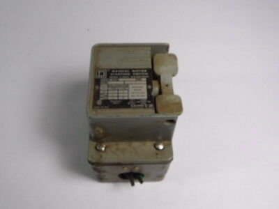 Square D 2510-KW2H Manual Motor Starting Switch 30A 600V ! WOW !